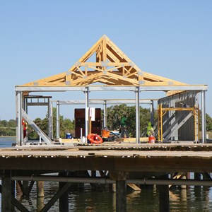 3 of 5: The Villas at Disney's Polynesian Resort - Polynesian Resort DVC Villas construction
