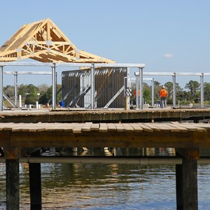 4 of 5: The Villas at Disney's Polynesian Resort - Polynesian Resort DVC Villas construction