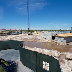 5 of 7: The Villas at Disney's Polynesian Resort - Polynesian Resort DVC Villas construction