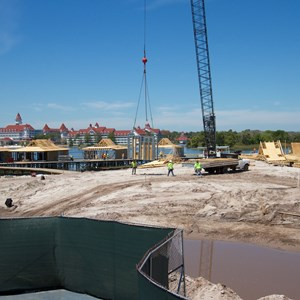 7 of 7: Disney's Polynesian Villas and Bungalows - Polynesian Resort DVC Villas construction