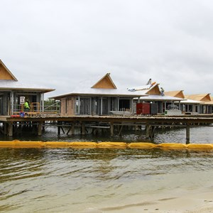 1 of 3: Disney's Polynesian Villas and Bungalows - Polynesian Resort DVC Villas construction