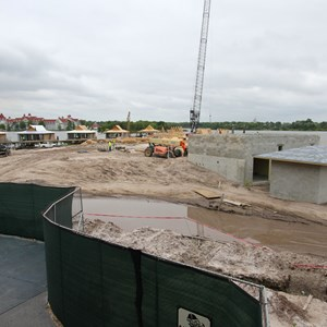 2 of 3: The Villas at Disney's Polynesian Resort - Polynesian Resort DVC Villas construction
