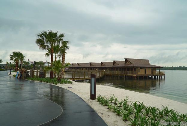 Tour inside a Disney's Polynesian Village Resort Bora Bora Bungalow villa