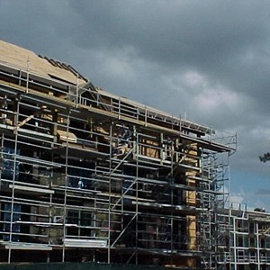 1 of 7: The Villas at Disney's Wilderness Lodge - Construction of the new Vacation Club resort at the Wilderness Lodge