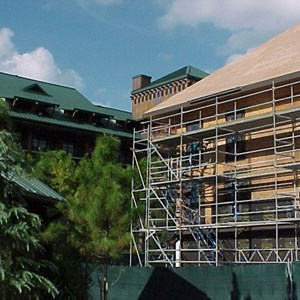 3 of 7: The Villas at Disney's Wilderness Lodge - Construction of the new Vacation Club resort at the Wilderness Lodge