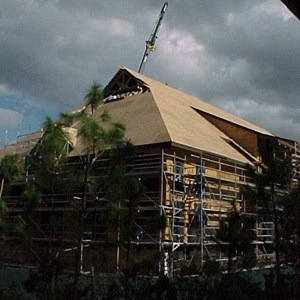 4 of 7: The Villas at Disney's Wilderness Lodge - Construction of the new Vacation Club resort at the Wilderness Lodge