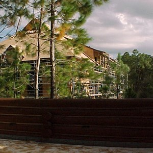 6 of 7: The Villas at Disney's Wilderness Lodge - Construction of the new Vacation Club resort at the Wilderness Lodge