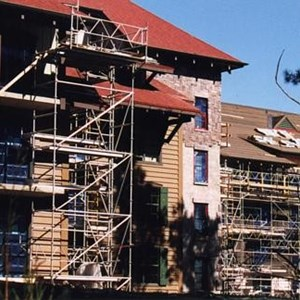 1 of 2: The Villas at Disney's Wilderness Lodge - Latest construction of the new Vacation Club resort at Wilderness Lodge