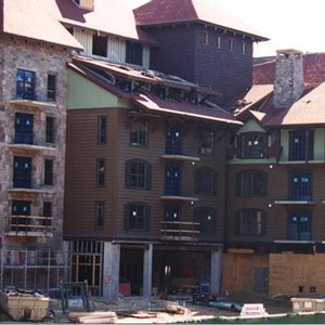 2 of 2: The Villas at Disney's Wilderness Lodge - Latest construction of the new Vacation Club resort at Wilderness Lodge