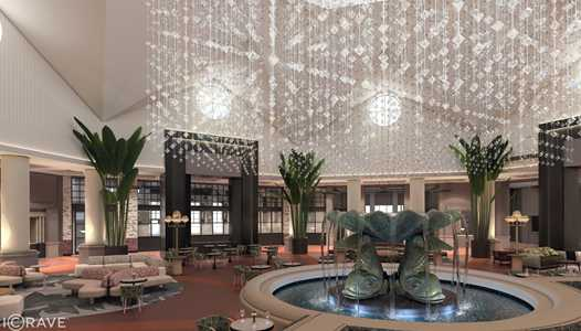 Lobby area transformation coming to the Walt Disney World Dolphin