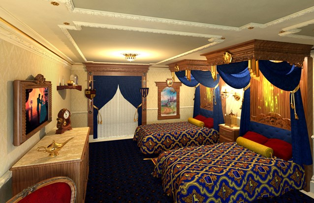 Walt Disney World Resorts - Disney's Royal Room concept