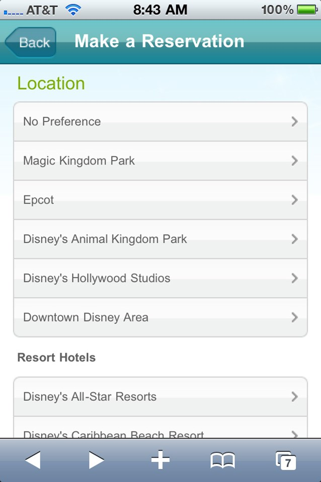 Walt Disney World Resorts