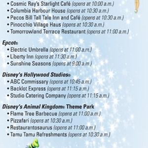1 of 1: Walt Disney World Resorts - 30 percent off quick service dining coupon