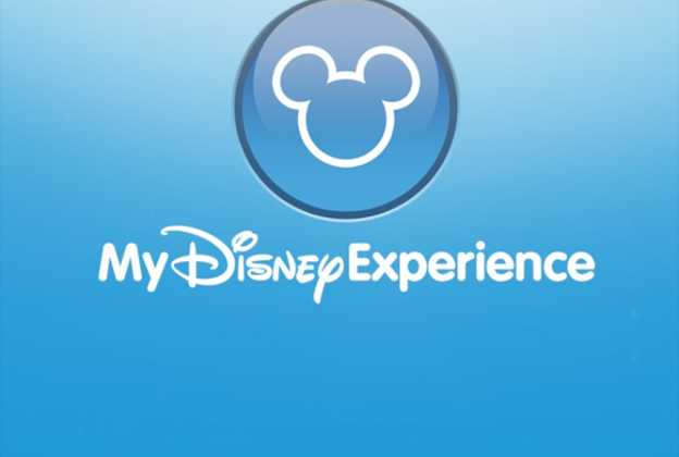 iPhone My Disney Experience App