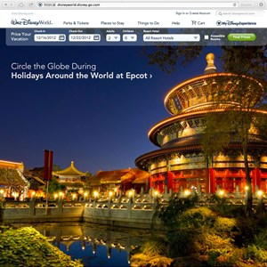1 of 5: Walt Disney World Resorts - New official Walt DIsney World website homepage