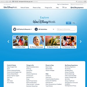3 of 5: Walt Disney World Resorts - New official Walt DIsney World website - Explore Walt Disney World