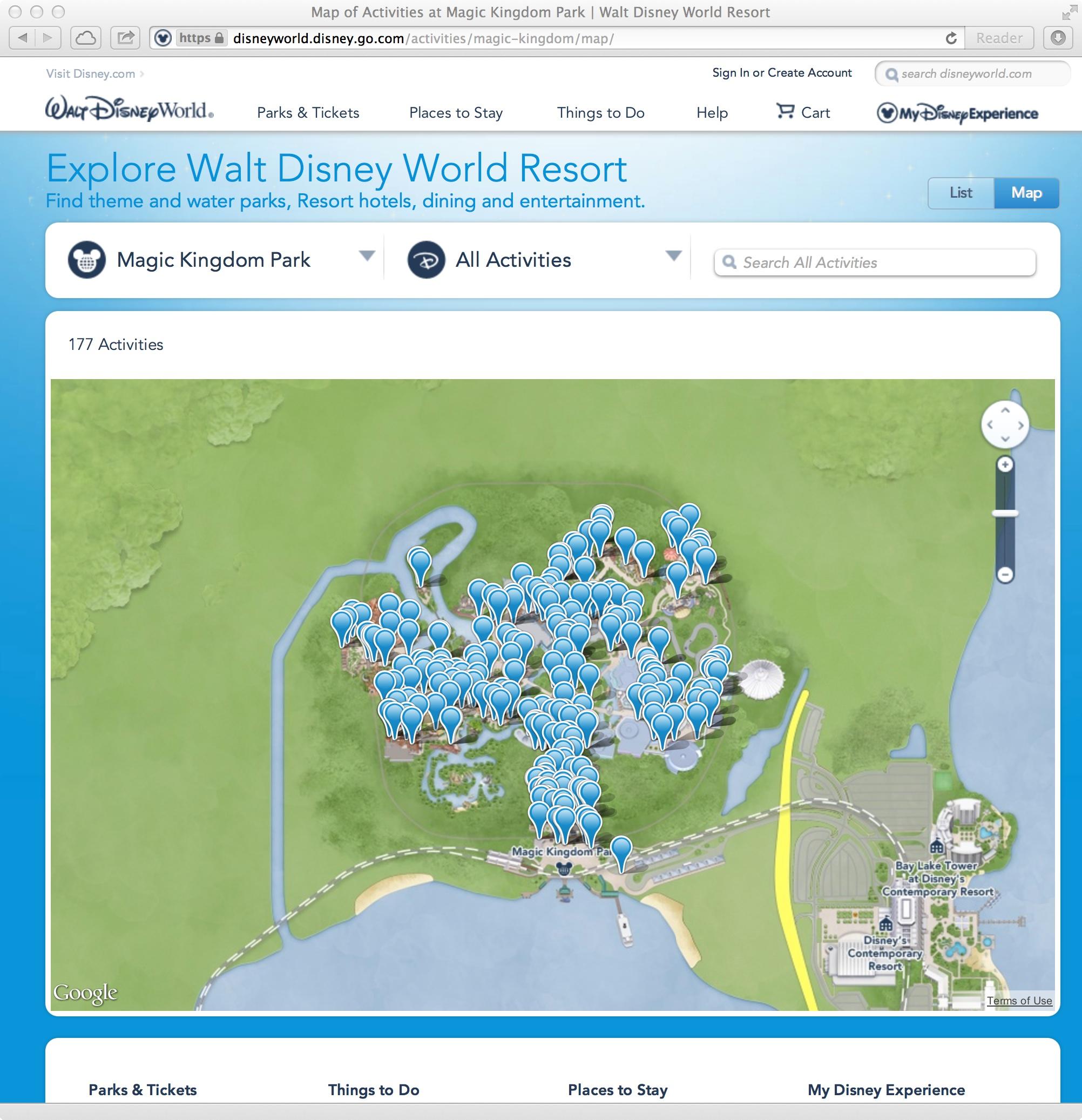 New official walt disney world website photo 5 of 5 - Walt disney office locations ...