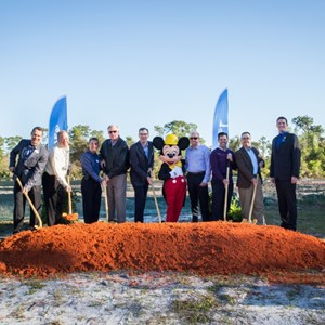 1 of 1: Walt Disney World Resorts - New Walt Disney World laundry facility ground breaking