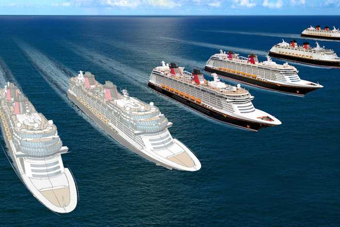 Disney Cruise Line fleet expansion