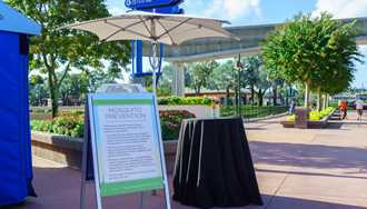 PHOTOS - Disney steps up the fight against Zika at Walt Disney World