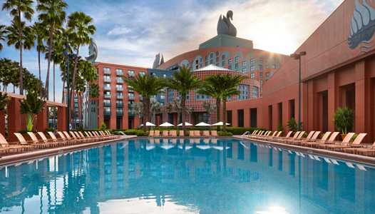 Low rates at the Walt Disney World Swan and Dolphin through late August