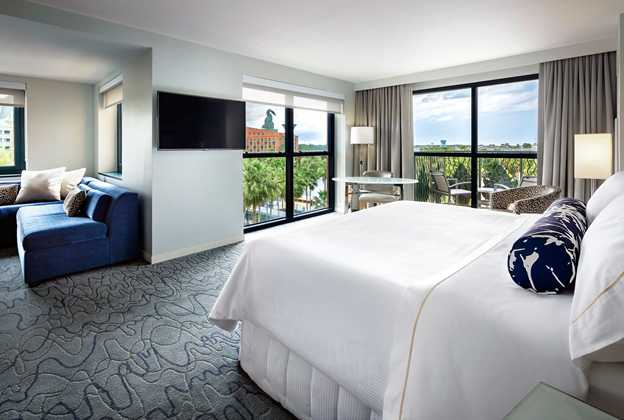Walt Disney World Swan rooms