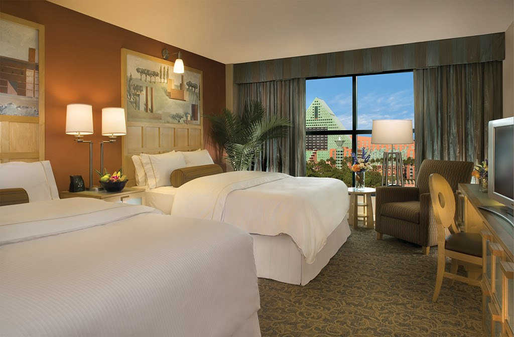 Walt Disney World Swan Resort guest rooms