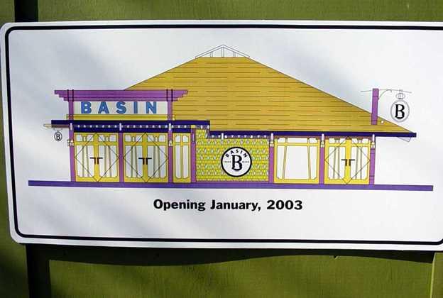 New Basin store