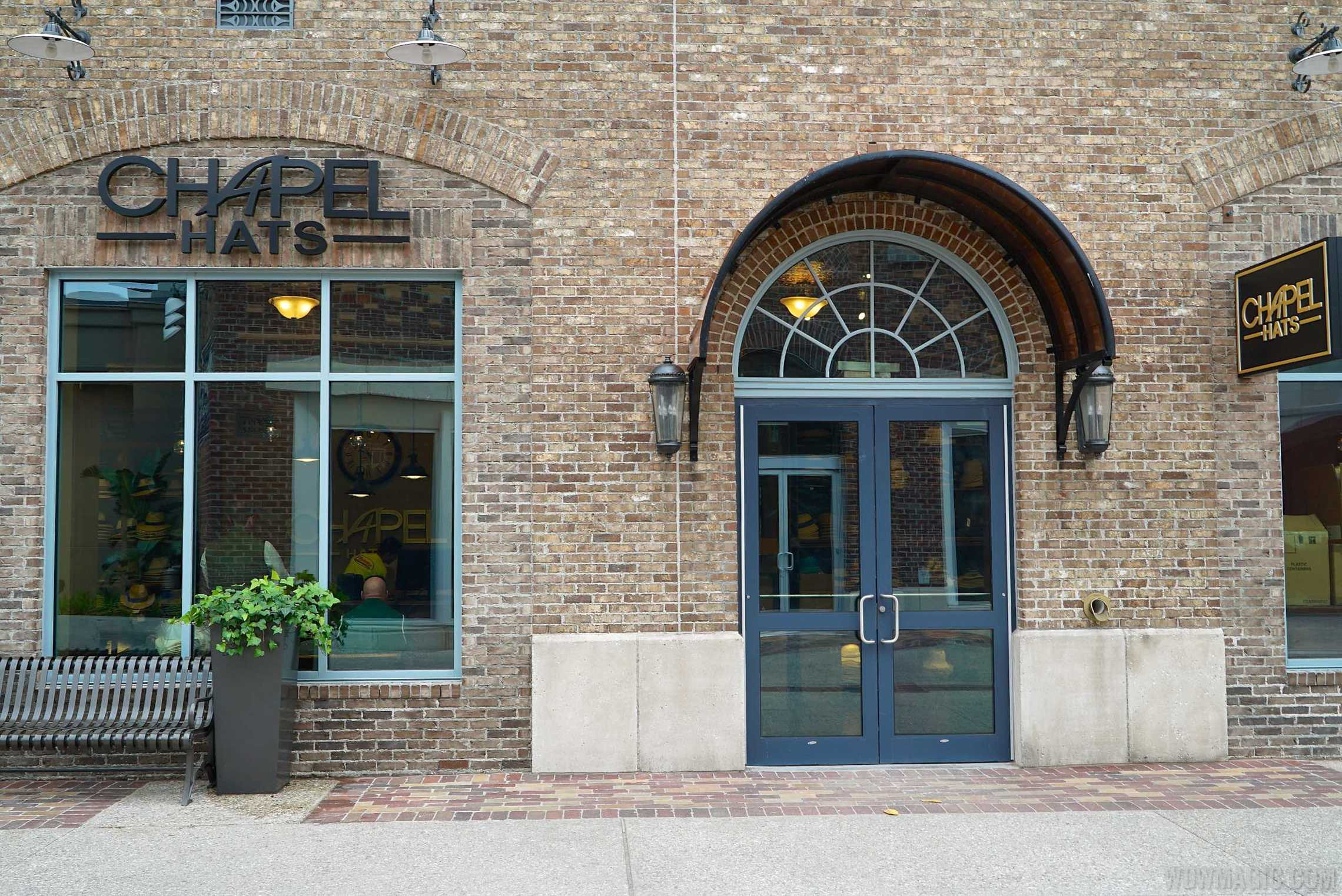 Chapel Hats store front
