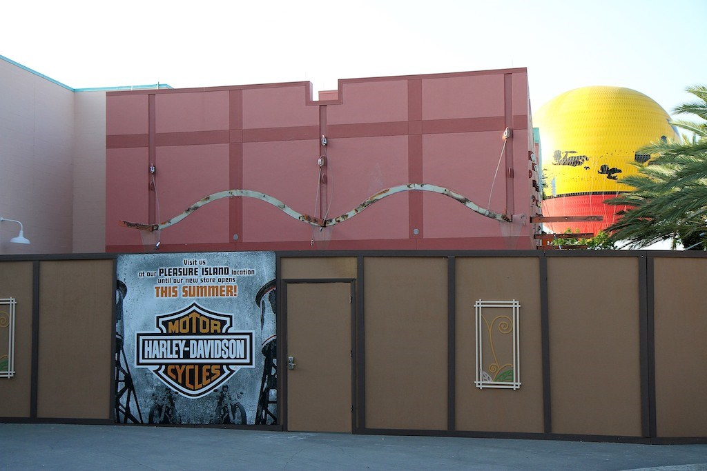 Harley-Davidson Motor Cycles construction at West Side location