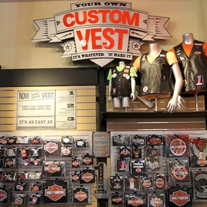 8 of 16: Harley-Davidson Motor Cycles - Harley-Davidson Motor Cycles new store complete