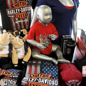 10 of 16: Harley-Davidson Motor Cycles - Harley-Davidson Motor Cycles new store complete