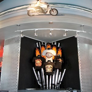 13 of 16: Harley-Davidson Motor Cycles - Harley-Davidson Motor Cycles new store complete