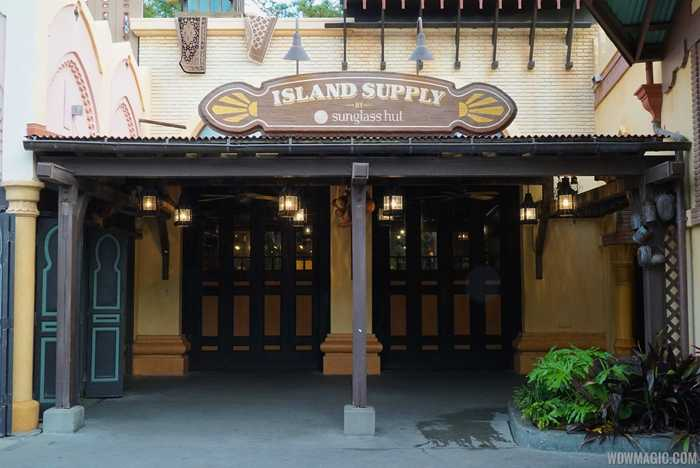 New Island Supply signage