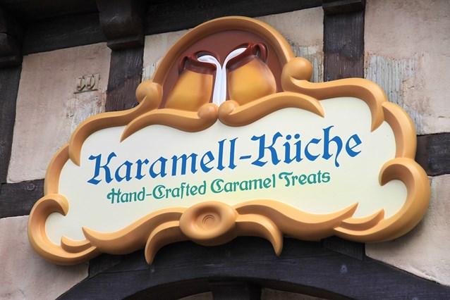 Karamelle-Kuche