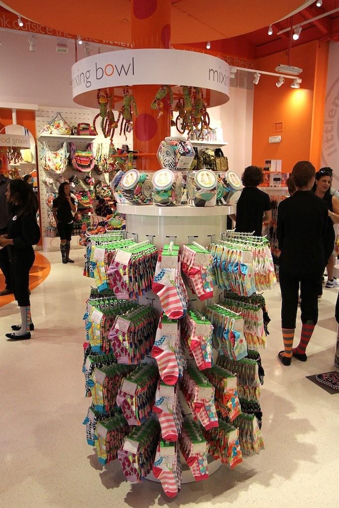 LittleMissMatched opening day at Marketplace location