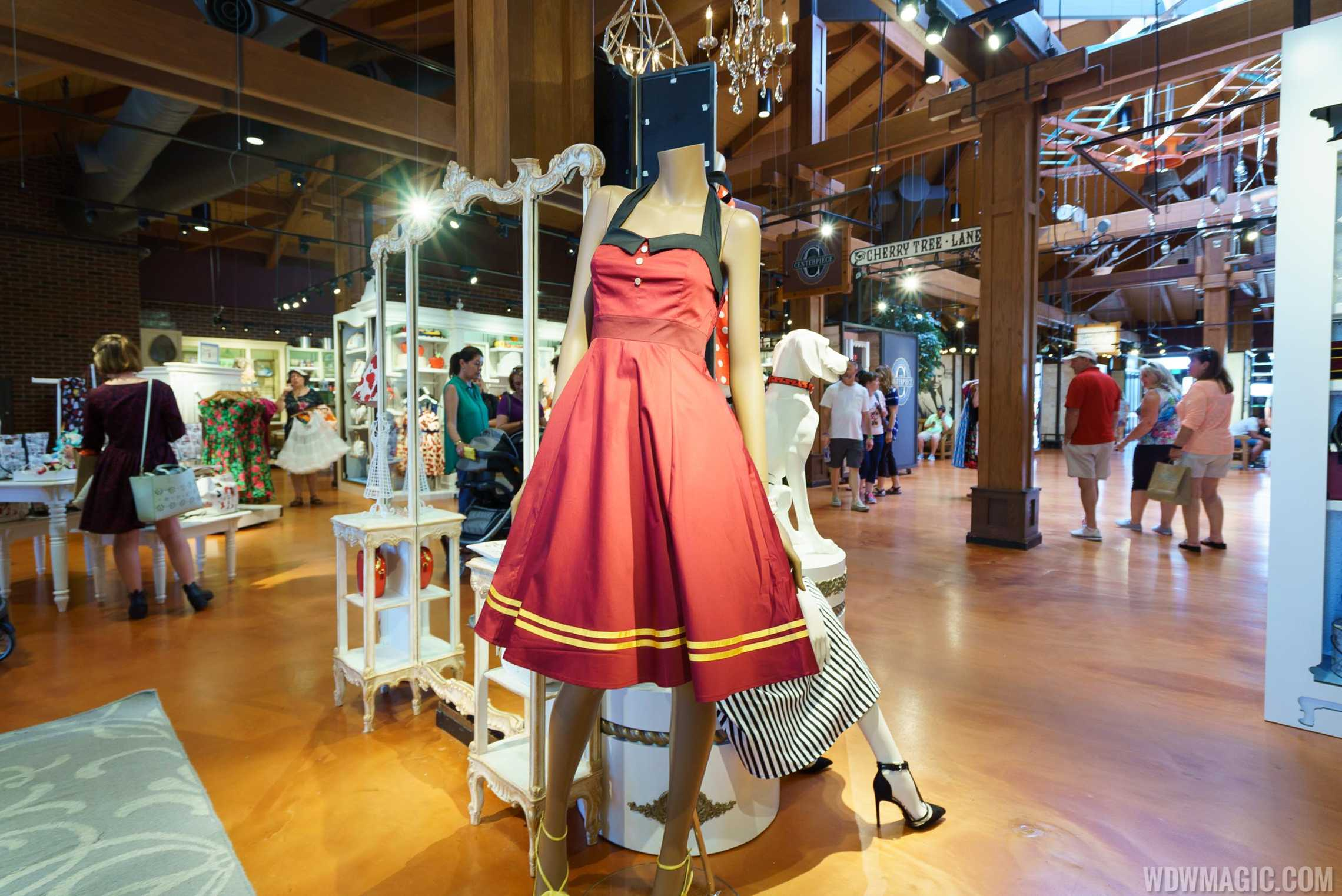 The Dress Shop on Cherry Tree Lane - Hollywood Tower Hotel display