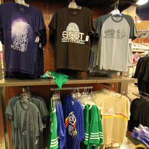 4 of 4: Mouse Gear - Retro Epcot shirts