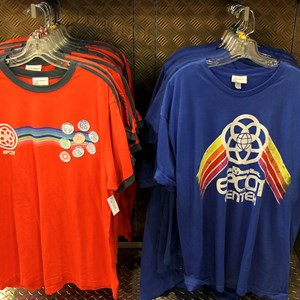 1 of 1: Mouse Gear - Retro Epcot shirt