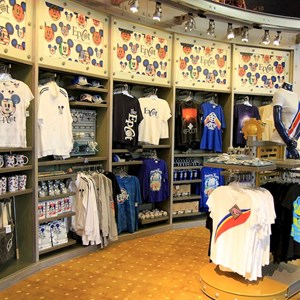 1 of 6: Mouse Gear - New Epcot merchandise display