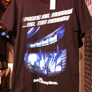 1 of 2: Mouse Gear - Peoplemover and monorail TShirts