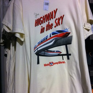 2 of 2: Mouse Gear - Peoplemover and monorail TShirts
