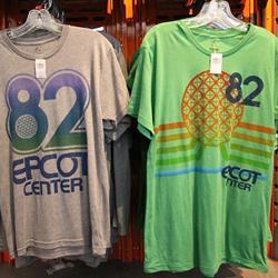 New Epcot Center retro T-Shirts