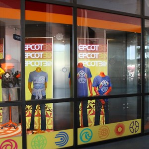 1 of 2: Mouse Gear - Mouse Gear Epcot 30th Anniversary window display