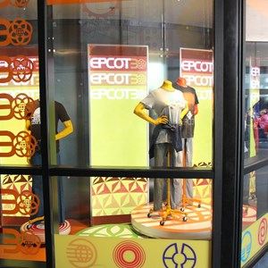 2 of 2: Mouse Gear - Mouse Gear Epcot 30th Anniversary window display