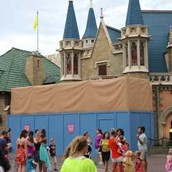 Exterior refurbishment at Sir Mickey's