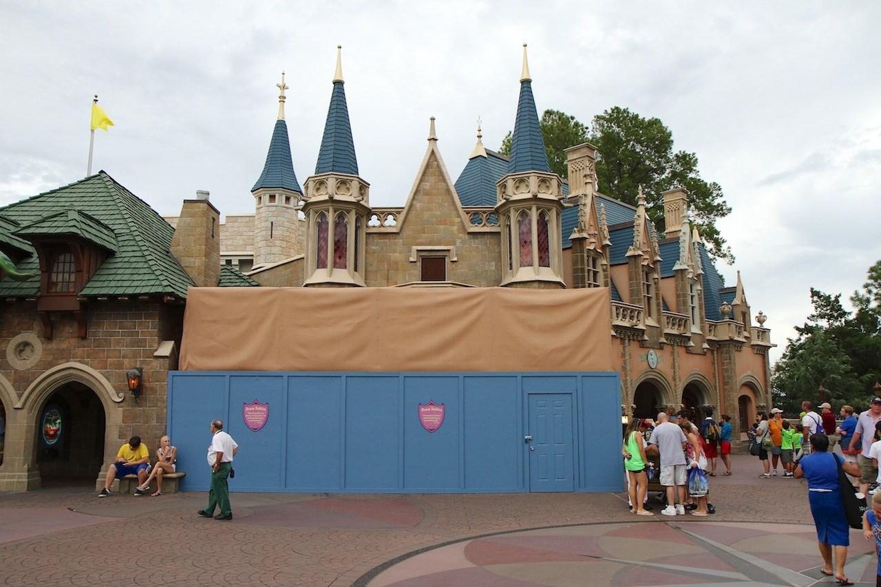 Exterior refurbishment at Sir Mickey's