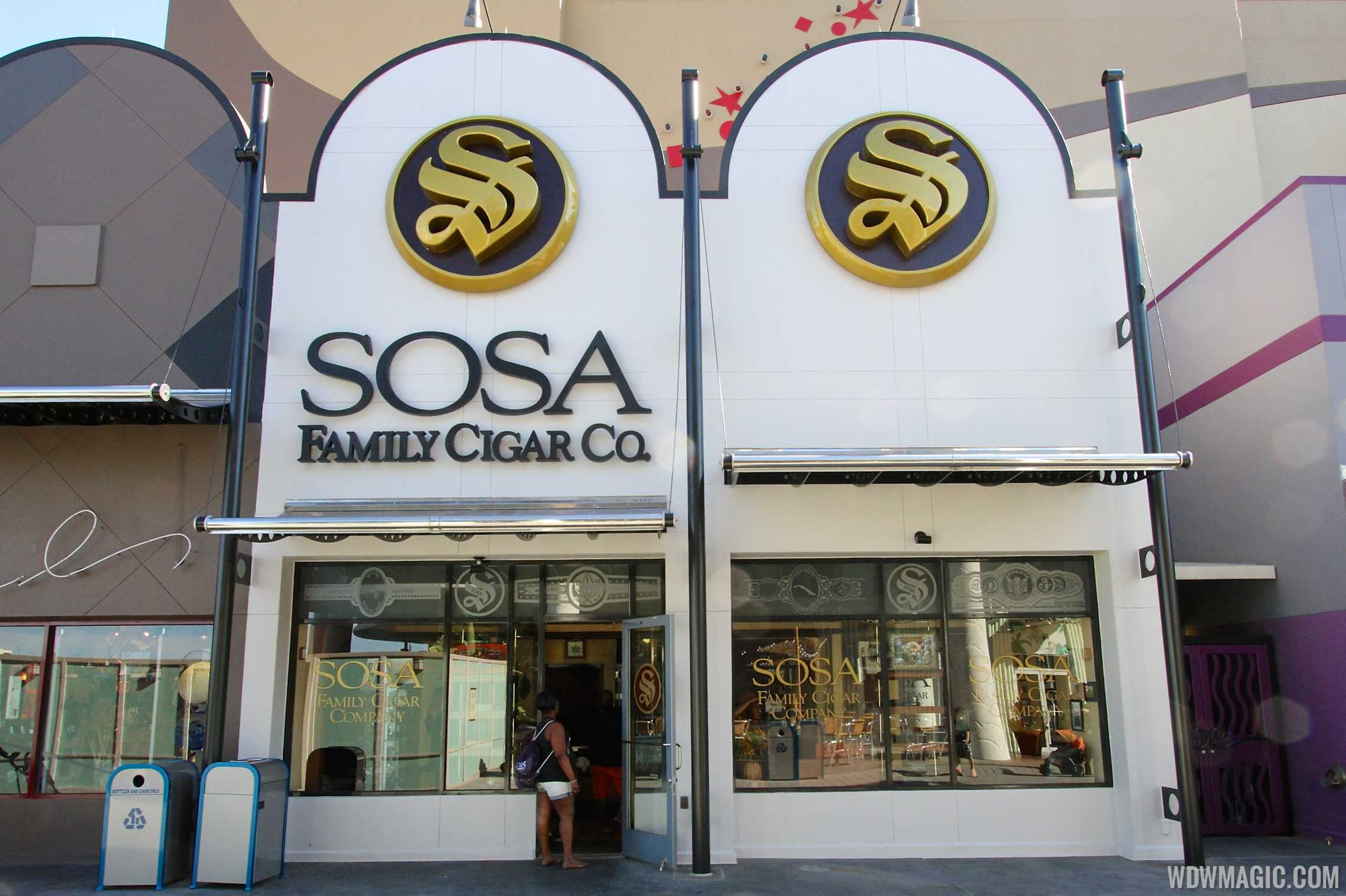Sosa Cigars new color scheme