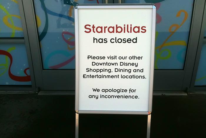 Starabilias closed