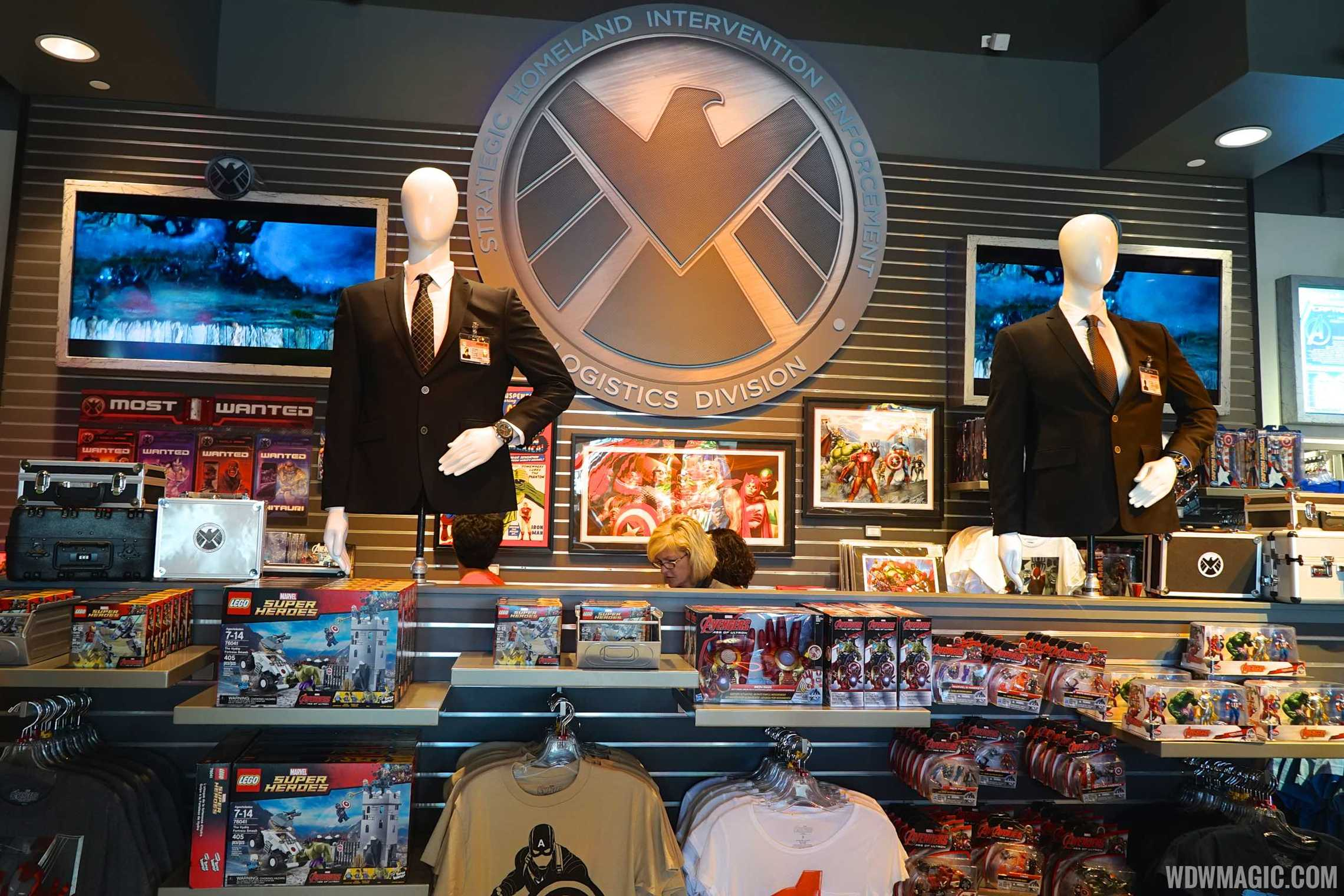 Inside Super Hero Headquarters